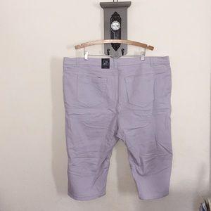 a3b156da576 Roz   Ali Pants - Plus size capri pants nwt crop denim